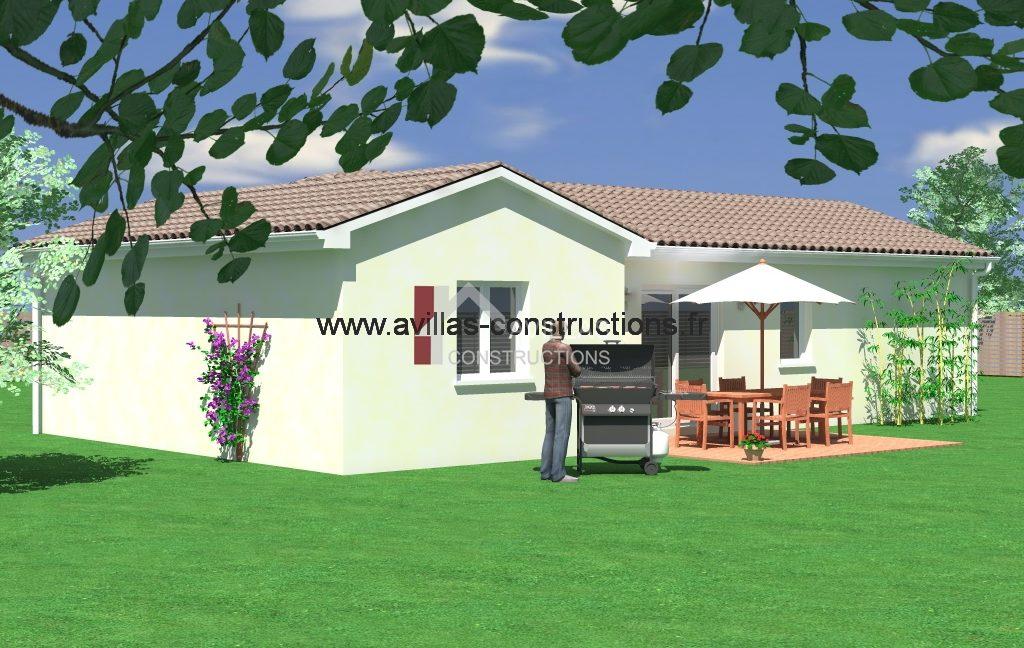 maisons avillas constructions arriere 52115