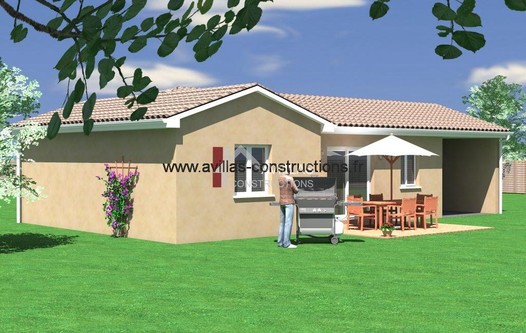 maisons avillas constructions arriere 52115 B