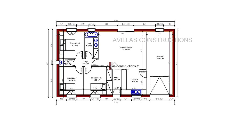 plan maisons avillas constructions
