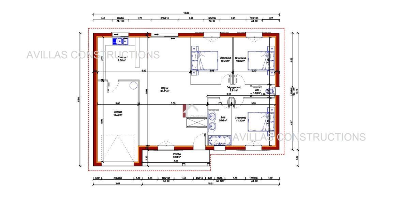 plan maison avillas constructions